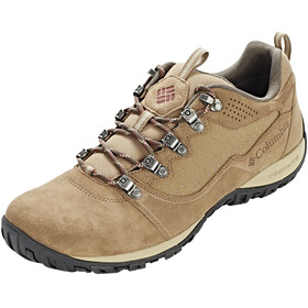 Columbia Peakfreak Venture Low Suede WP Shoes Men Delta/Deep Rust